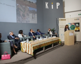 Desertification and Food Security Panel Discussion, Expo Milan, Italy, September 14, 2015