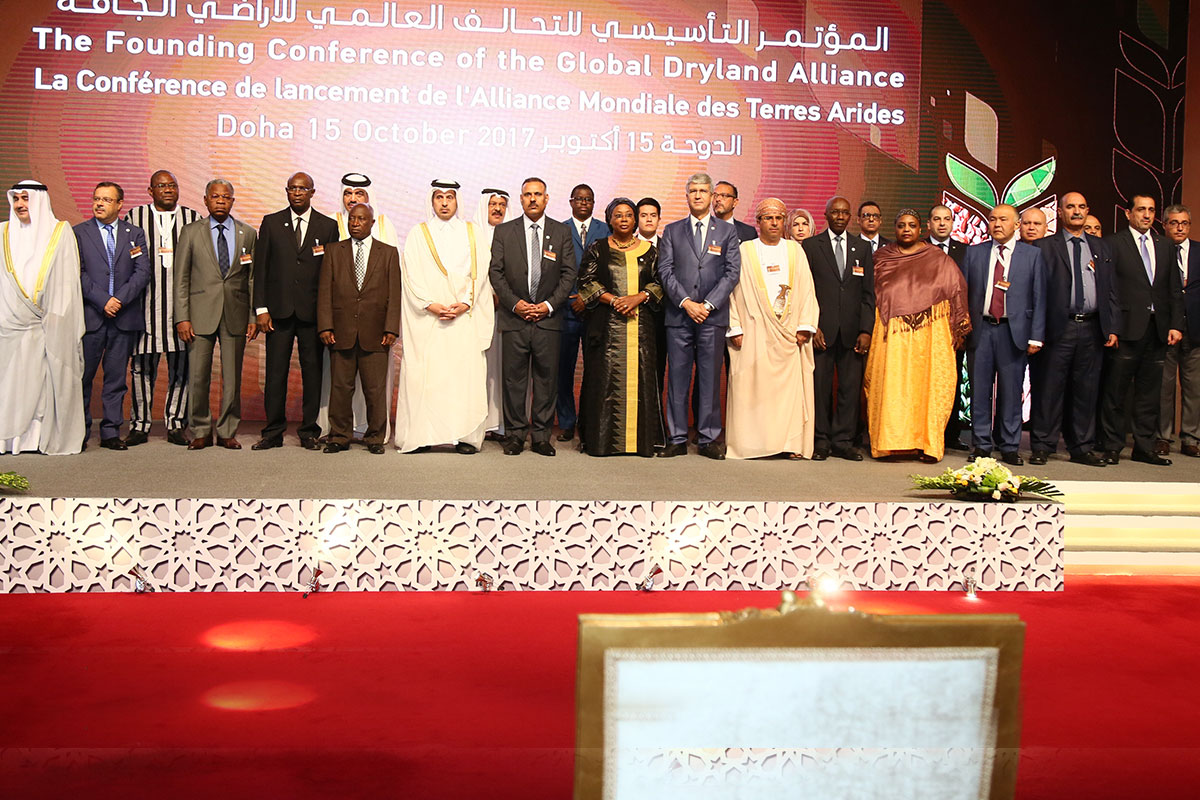 <h2>Doha hosted the Global Dryland Alliance Founding Conference</h2>